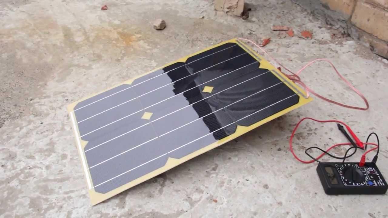 Зарядное на солнечных своими руками