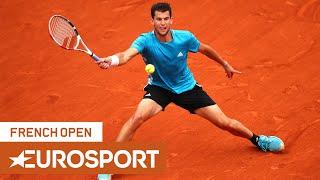 Top 10 BIG Shots Of The French Open   Roland Garros 2019   Eurosport