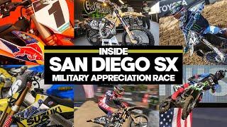 Inside San Diego SX Military Appreciation Race Video