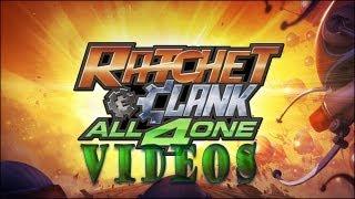 Ratchet and Clank All 4 One - Todas las Escenas!