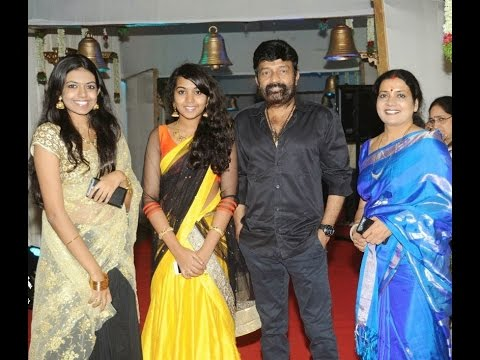 Actress Jeevitha Rajasekhar with Family...