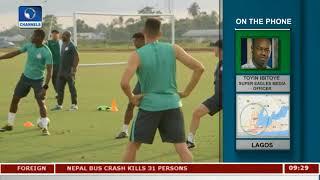 Super Eagles Media Officer, Toyin Ibitoye Updates On Eagles Prep |Sports This Morning|