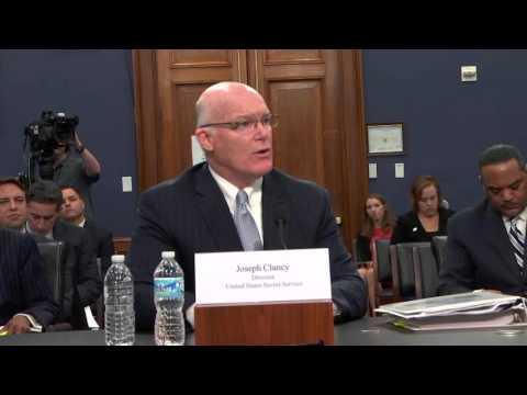 Congressman Cuellar Questions United States Secret Service Director Joseph Clancy
