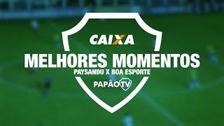 Melhores Momentos - Paysandu x Boa Esporte (MG) - 02/06/2018