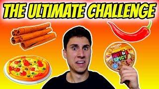 1000 SUB ULTIMATE CHALLENGE | Atomic Ramen Challenge | Cinnamon Challenge | Pizza Challenge