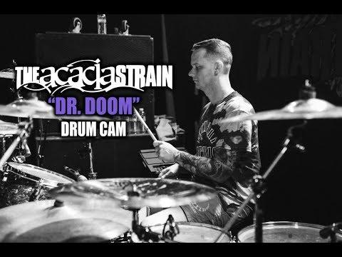 The Acacia Strain   Dr. Doom   Drum Cam (LIVE)
