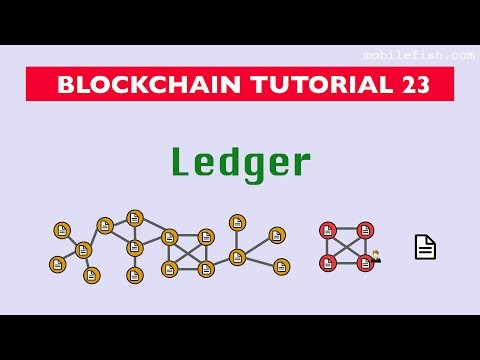 Blockchain tutorial 23: Ledger