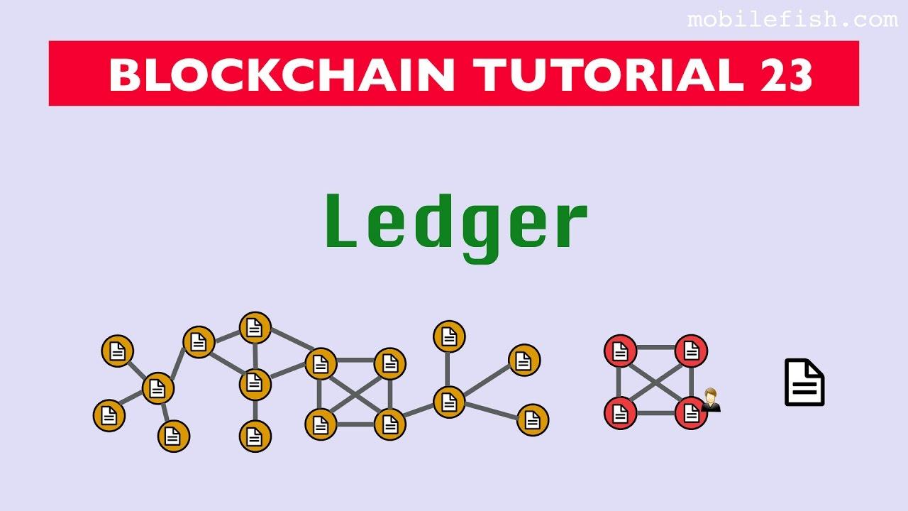 public blockchain ledger