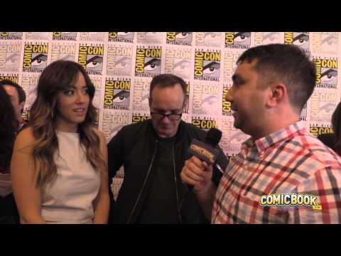 SDCC: Clark Gregg and Chloe Bennet Talk S.H.I.E.L.D.