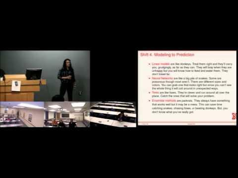 Jennifer Clarke: The Challenge of Big Data