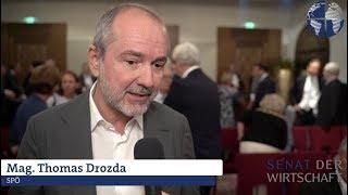 NR-Wahl 2019: Wirtschaftsprogramm SPÖ - Mag. Thomas Drozda