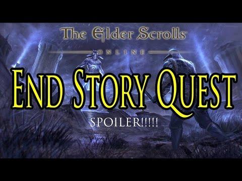 The Elder Scrolls Online: Tamriel Unlimited - Story Quest Ending (Walkthrough/Gameplay)