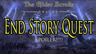 The Elder Scrolls Online: Tamriel Unlimited - Story Quest Ending (Walkthrough/Gameplay)