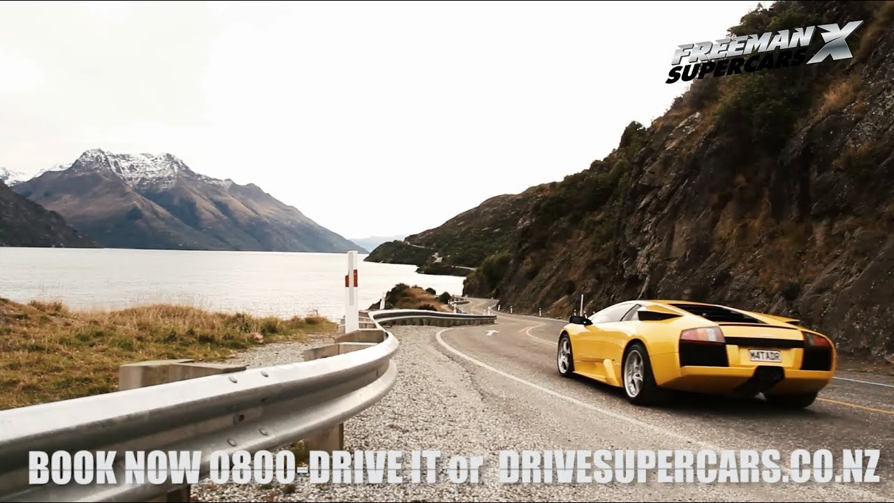 Freemanx Supercars Queenstown Promo Video Youtube