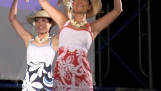 タヒチアンダンス by オリ タヒチ パアリ ポエラヴァ in 種子島鉄砲まつり演芸大会2013