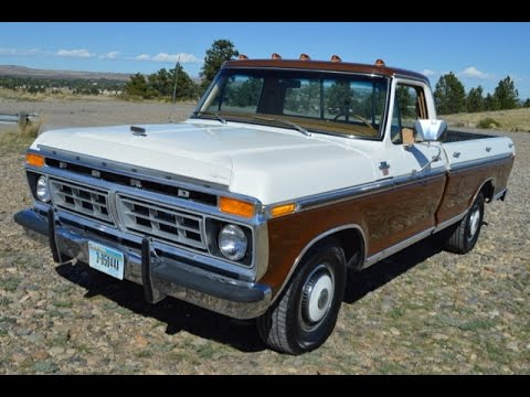 for sale 1977 ford f150 ranger xlt youtube. Black Bedroom Furniture Sets. Home Design Ideas