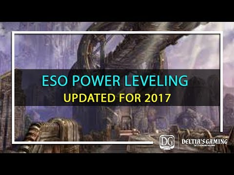 ESO Power Leveling in 2017