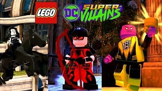 LEGO DC Super Villains - 42 Characters Showcased! Donna Troy, Arsenal, Nightwing and More!