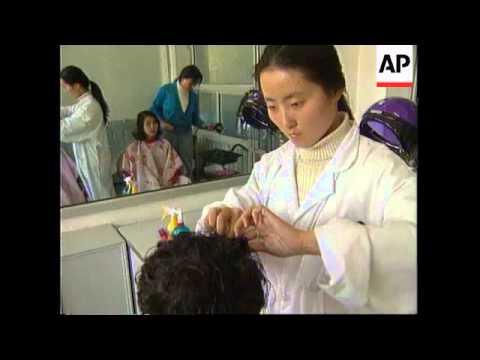 CHINA: BEIJING: RADICAL CHANGE IN FASHION DESIGNS FOR WOMEN