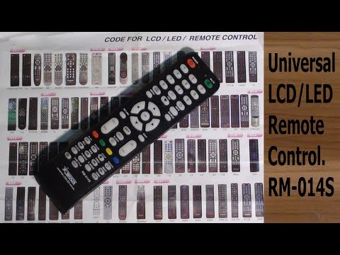 Universal LCD/LED Remote Control.RM-014S#Pro Hack