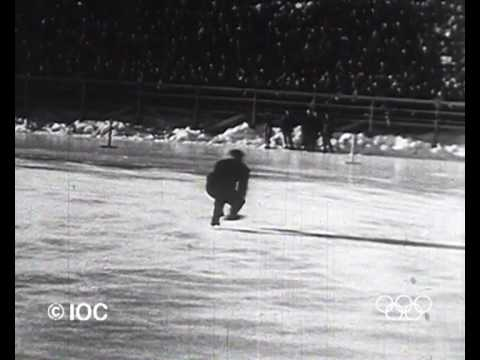 Button Wins Individual Figure Skating Gold - St. Moritz 1948 Winter Olympics