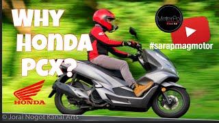 BAKIT HONDA PCX? | Basic Features | What I like about this bike | Motovlog #3