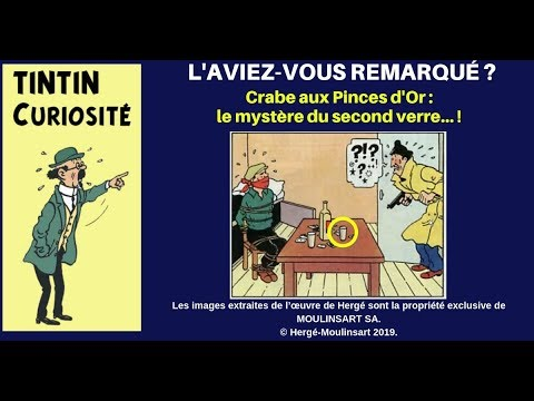 ERREURS DANS TINTIN (11) - LE SECOND VERRE DU CAPITAINE