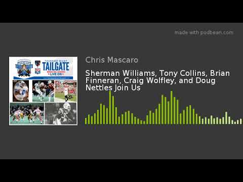 Sherman Williams, Tony Collins, Brian Finneran, Craig Wolfley, and Doug Nettles Join Us