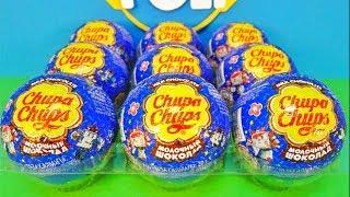 Робокар Поли Чупа Чупс! Машинки игрушки мультик 2016!Unboxing Surprise Eggs Robocar Poli Chupa Chups