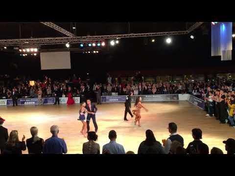 WDC Dutch Open 2017 Assen - Professional Latin Jive finals