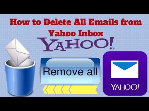 How To Delete All Emails From Yahoo Inbox Easy Way [URDU/HINDI]