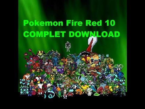 Descarga Pokemon Fire Red Ben 10