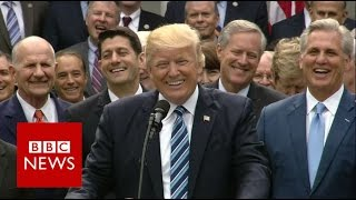 Trump: Obamacare is 'dead' - BBC News