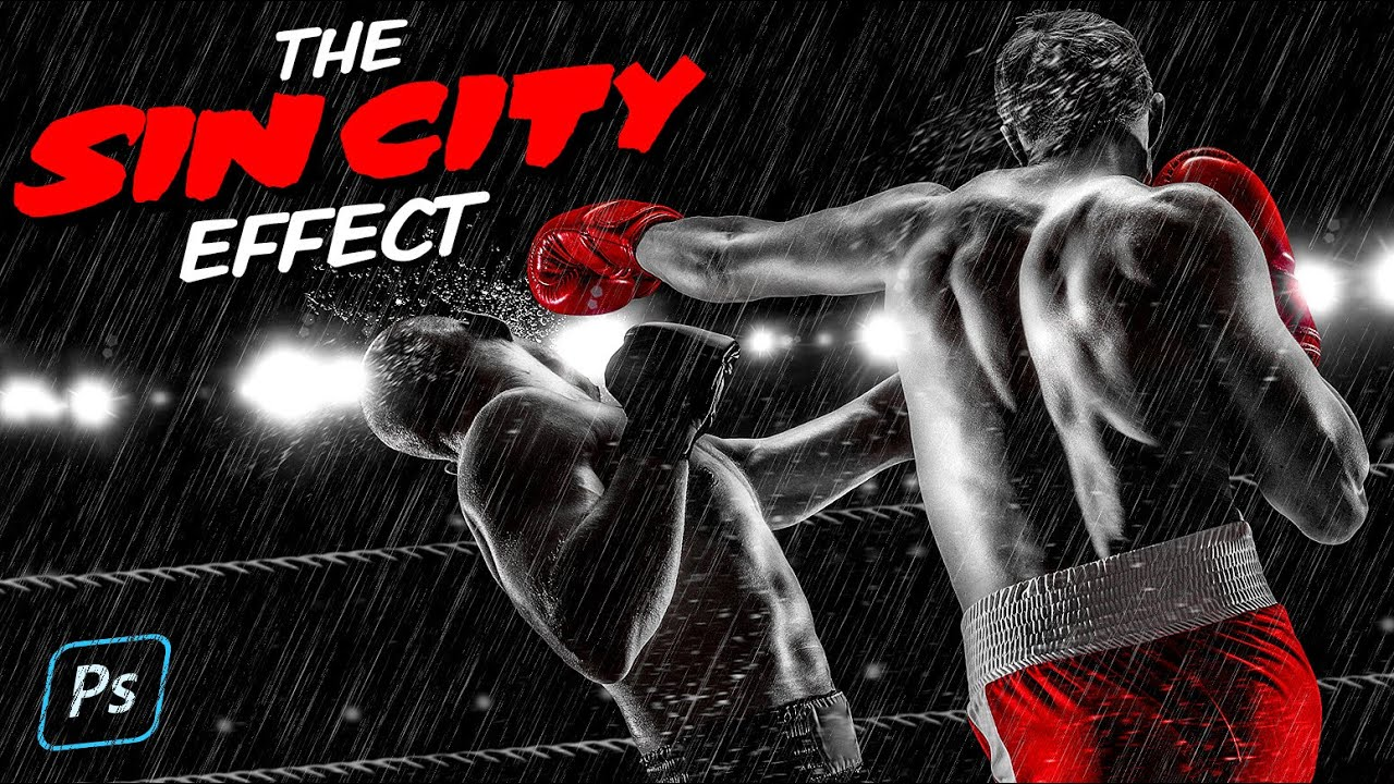 Create The SIN CITY Movie Effect in Photoshop CC.