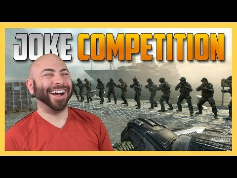 Make Us Laugh Or Else! Call of Duty Joke Competition (an LOL Idol Episode) | Swiftor
