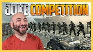 Make Us Laugh Or Else! Call of Duty Joke Competition (an LOL Idol Episode)