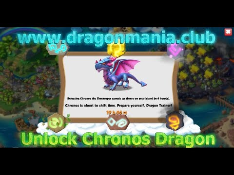 Dragon Mania Legends - Unlock Chronos