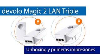 devolo Magic 2 LAN triple Analisis e instalacion