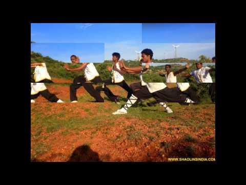 Shaolin Kung-fu Black Belt Training India Wushu Warrior Monk Shifu Prabhakar Reddy AP Martial arts
