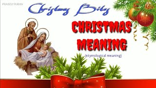 Christmas Bites|Meaning Of Christmas|Tamil|Christmas Video -2019|What Is Christmas?|Episode-1