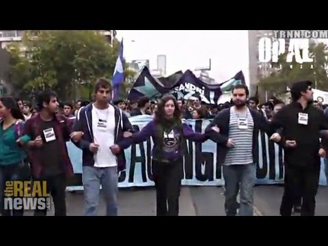 """Generation Without Fear"" Demands Free Education in Chile"