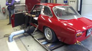 Alfa Rome GTA 1970s - Dyno Run at Beek Auto Racing