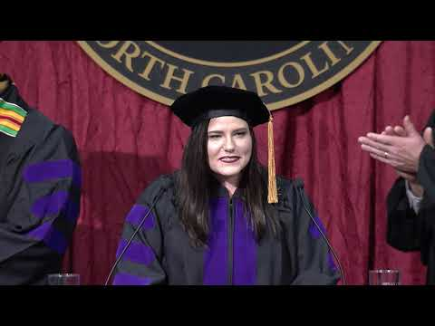 Commencement for Elon University School of Law's Class of December 2017