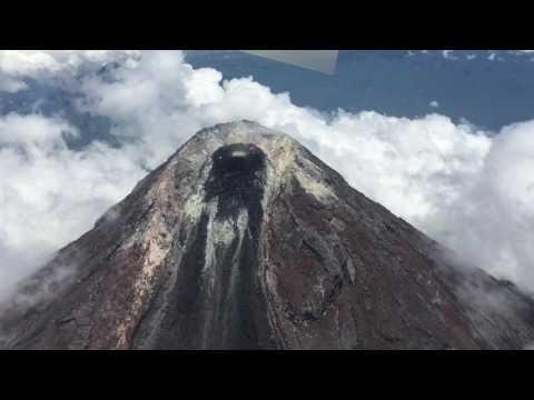 Mayon Volcano Crater
