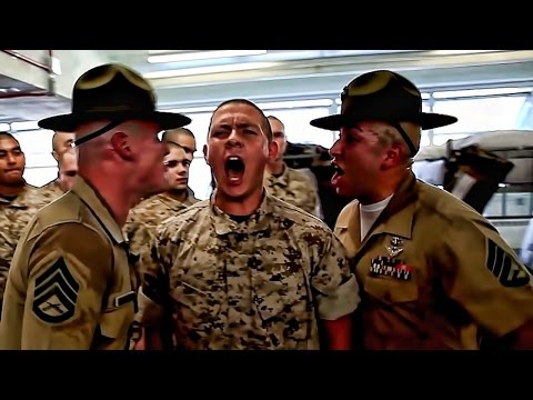 USMC Drill Instructors • Get Ready For Screaming