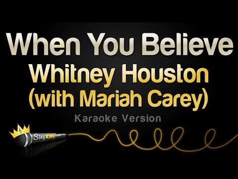 Whitney Houston (With Mariah Carey) - When You Believe (Karaoke Version)
