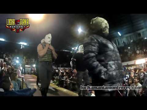 Konnan invade MDA - MDA Lucha Libre - 21 Enero 2018