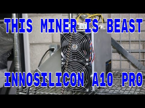 INNOSILICON A10 PRO Ethereum Miner Unboxing and Setup #Crypto