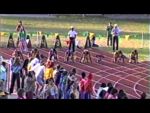 1982 NCAA D2 100 Meter Dash Championship