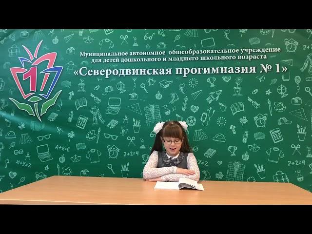Изображение предпросмотра прочтения – КаринаБажанова читает произведение «Как Маша стала большой» Е.А.Пермяка